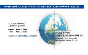 louise rivard Arpanteur - Condos Sofia en Candiac Québec par développements Kona